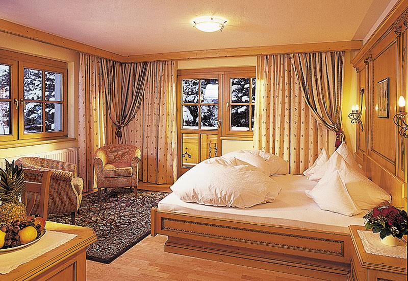 Schlafbereich Landhaus Gletscherblick